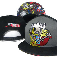 TokiDoki Marvel Thor Snap-back Cap for Adults