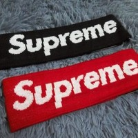 DCCK Supreme Headband Head Band New Streetwear Hypebeast Fleece new Cool 14 FW