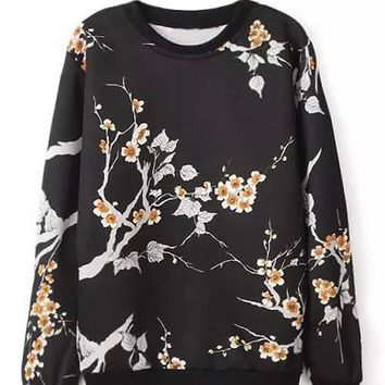 Cupshe Take it From Me Wintersweet Sweatshirt