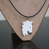 Beaded Unicorn Necklace