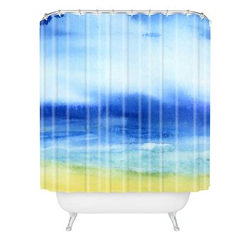 Jacqueline Maldonado Sea Church Shower Curtain