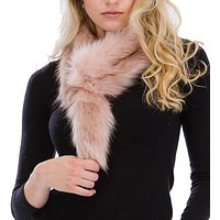 Tail to Tell Soft Faux Fur Fuzzy Scarf