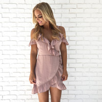Sweet As Pie Ruffle Dress