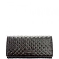 One-nice™ Gucci Womens wallet GG Micro Guccissima Wallet Signature