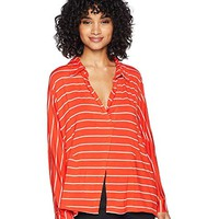 Free People Striped Cant Fool Me Tee