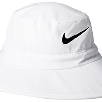 Nike Golf Sun Protect Bucket Hat White/Black S/M