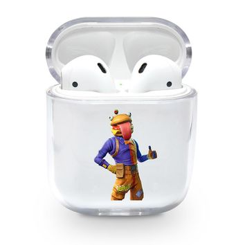 Clear Beef Boss Airpods Case