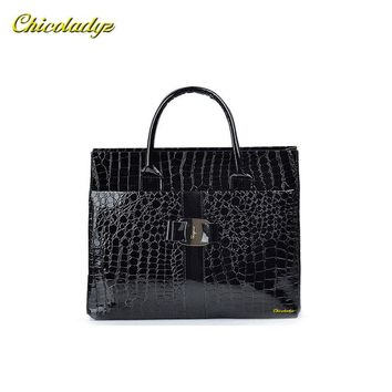 CCHICOLADYZ Fashion PU leather Retro Pack Handbag Women Alligator Clutch Bag Messenger Shoulder Bags Women Leather Bag Promotion