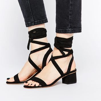 ASOS TESSA Lace Up Heeled Sandals
