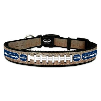 LMFON Seattle Seahawks Reflective Football Pet Collar