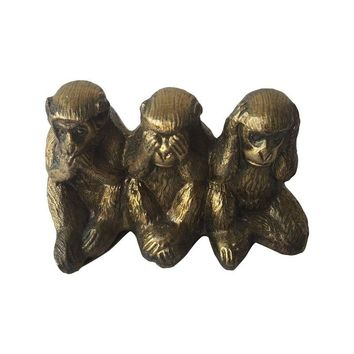 Pre-owned Brass Three Wise Monkeys