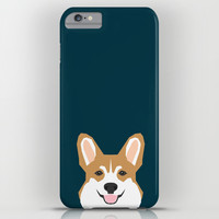Teagan - Corgi Welsh Corgi gift phone case design for pet lovers and dog people iPhone & iPod Case by PetFriendly