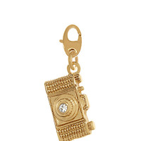 Kate Spade Camera Charm Gold ONE
