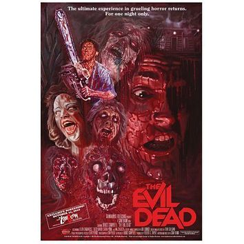 Evil Dead Movie Poster Standup 4inx6in