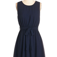 ModCloth Mid-length A-line Abroad Range of Interests Dress