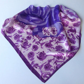 Birthday Gift Purple Scarf, Gift for coworker, Graduation Gift for mother, Chemo Headscarf, Gift for Sister in law, Under 20