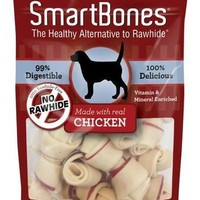 SmartBones Mini Chicken Dog Treats 16 Pack