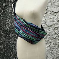 Fanny pack Boho Hobo Tribal Styles belt belly Bags Bum Pouch Travel hip sack phanny waist Tapestry Ethnic Ikat Hippies Gypsy Festival chic