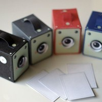 Vintage Box Cameras includes all 4 colours by girliepains