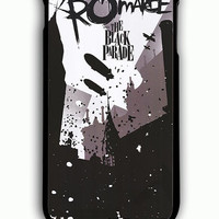 iPhone 6 Plus Case - Rubber (TPU) Cover with My Chemical Romance The Black Parade Poster Rubber Case Design