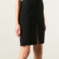 Versace Slit Pencil Skirt