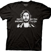 Workaholics Dirty Brown Water Trash T-shirt