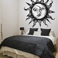 Vinyl Wall Decal Sticker Moon Within Sun #OS_AA815