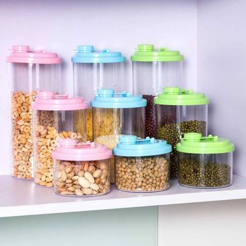 Kitchen Organizer Storage Box  For Food  Organizer Plastic Containers Sealed Cans For Bean