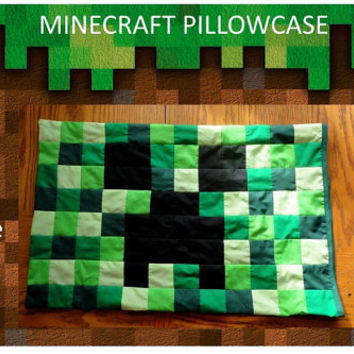Minecraft Pillowcase- Twin Size