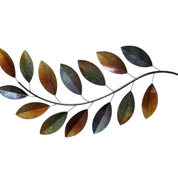 Stratton Home Decor Wall Hanging Mutli-Color Metallic Branch