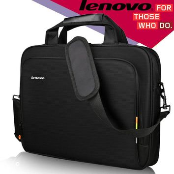 "Laptop Shoulder Bag Women Men Notebook Sleeve Messenger HandBag Briefcase Carry Bags for Lenovo Laptop Bag Black 14"" 15.6"" inch"