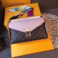 Louis Vuitton Pallas Chain Monogram Crossbody Shoulder Bag