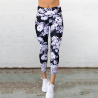 Women Fitness Floral Leggings