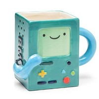 Adventure Time Beemo BMO Ceramic Figural Coffee Mug