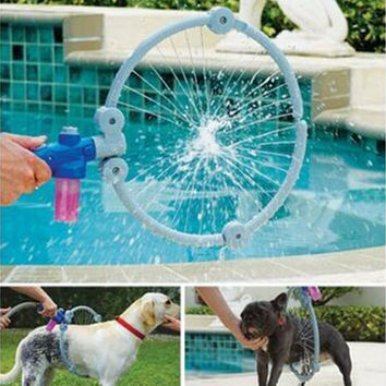 Multicolor 95% Plastic/5% Metal 580g Creative 360 Pet Washer Cleaner Spray Dog Puppy Washer S/L Size Shower Tool Kit (NAKEDSOAP'S SHOWER&BEYOND)