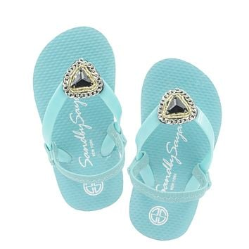 Swarovski Triangle - Baby / Kids Sandals