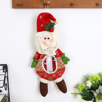 Fashion Christmas Gift Box Santa Claus Snowman Elk Christmas Candy Packaging Christmas Candy Decoration#28