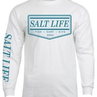 NEW Salt Life The Original Long-Sleeve T-Shirt for Men