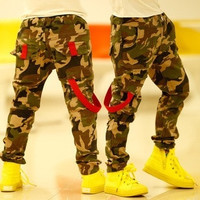 2015 new cotton boys Jeans denim pants for kids children top quality casual trousers baby boy Camouflage print Jeans kids wear = 1930399172