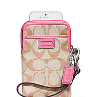 COACH SIGNATURE UNIVERSAL CASE | Dillards.com