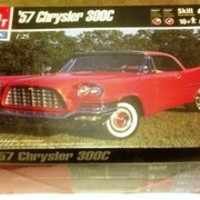 '57 Chrysler 300C 1:25 Scale AMT1999 Model Kit Level 2 MIB ShrinkWrap