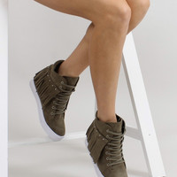 Wedge heel sneakers model 50732 Inello