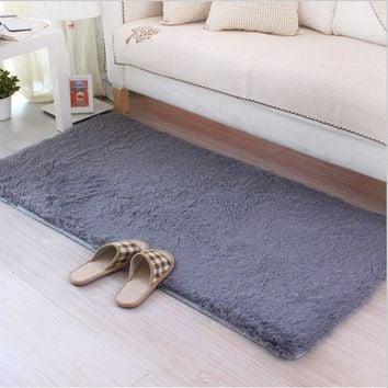 Autumn Fall welcome door mat doormat Carpet 50*160cm Anit-slip carpets for living room bedroom tapete rug  carpet alfombras thicken long brush gray coffee AT_76_7