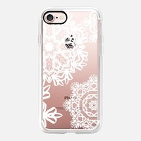 Flurries (Transparent) iPhone 7 Case by Lisa Argyropoulos | Casetify