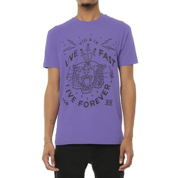 Live Fast Forever Shirt Purple