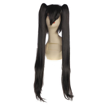 Bunches Anime Wig Black