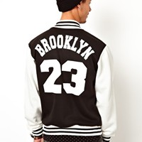 Reclaimed Vintage Baseball Jacket