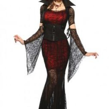 Gothic Witch Vampire Women's Costume