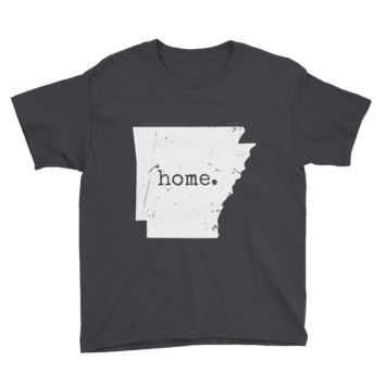 "Youth ""Home"" Arkansas shirt"