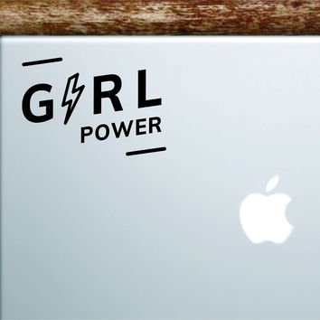 Girl Power V3 Laptop Decal Sticker Vinyl Art Quote Macbook Apple Decor Car Window Truck Women Feminist